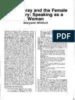 Rp43 Article1 Whitford Irigarayfemailimaginary