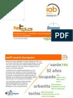 Geolocalización, movilidad y recomendación. A propósito de Foursquare