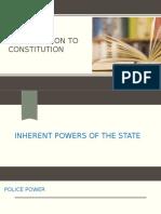 Constitution Endterm