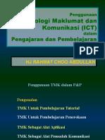 Penggunaan ICT Dalam P & P - PPK3a