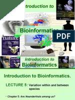 Introduction to Bioinformatics-5
