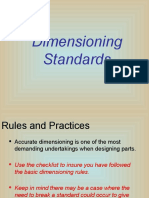 Dimensioning Standard