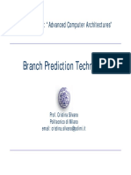 Lesson 2 Branch Prediction