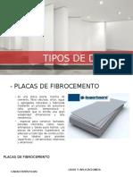 Tipos de Drywall