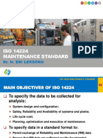ISO 14224 Maintenance Standard