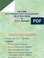 MEC3609 HT Radiation