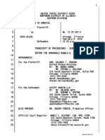 Doug Allen Sentencing Court Transcript
