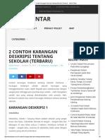 2 Contoh Karangan Deskripsi tentang Sekolah (Terbaru) - Kakak Pintar.pdf