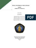 Proposal Pendirian Organisasi