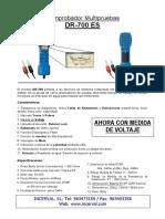 DR 700ES1 Microtelefono