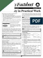 132 Uncert Prac Work