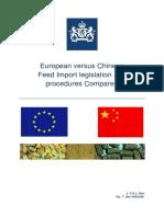 China Comparison Legislation 2013