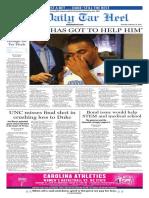 The Daily Tar Heel for Feb. 18, 2015
