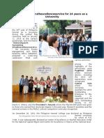 Anniversary Article