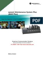 Motorola Battery Maintenance BMS Plus