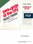 Paulo Freire Pedagogy of the City