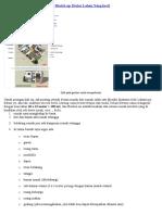 Desain Sketch Eksterior Rumah Mungil Minimalis Type 36 Part 1