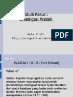 Studi Kasus Investigasi Wabah