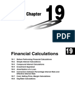 Chapter 19 Financial Calculations