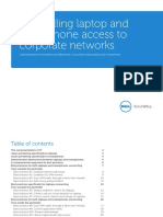 Controlling Laptop and Smartphone Access to Corporate Networks