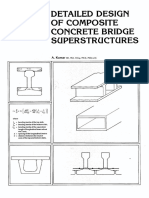 Composite Concrete Bridge Superstructure