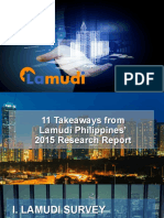 Lamudi - White Paper 2015 Presentation