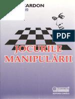 Alain Cardon Jocurile manipularii