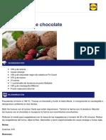 Lidl Recetas - Magdalenas de Chocolate - 2013-02-01