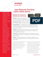 Avaya Ethernet Routing Switch 4500 Series Dn4816