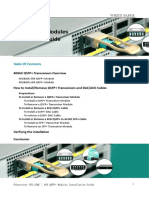 40G QSFP+ Modules Installation Guide