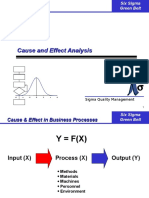 12 Cause and Effect Analysis
