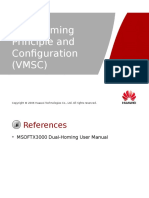 9 OWG500210 Dual-homing Principle and Configuration(VMSC) ISSUE1.0