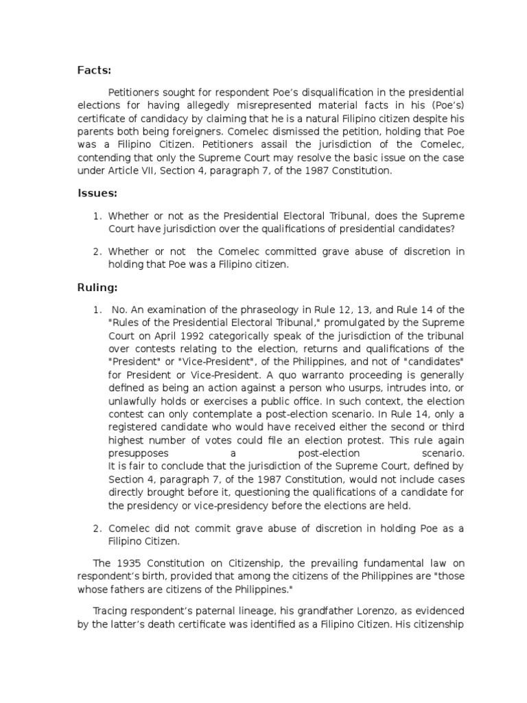 grave abuse of discretion philippine constitution