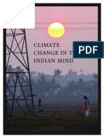 Climate Change Indian Mind