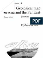 Geological Map of Asia and the Far East
