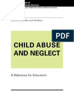 Ohio DJFS-01492 Child Abuse and Neglect