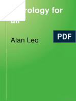 Astrology for All- alan leo