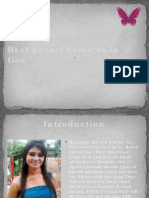 Escort Services in Goa