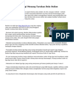 Trik Sederhana Bagi Menang Taruhan Bola Online
