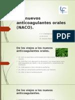 Nuevos Anticoagulantes Orales