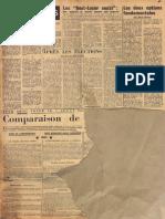 Les deux lettres de Bérenger à l'express en 1967