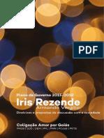 Diretrizes e Proposta de Governo 2015-2018 - Iris Rezende - Goiás
