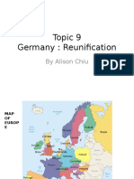 Topic 9 - Germany Reunification (HO)