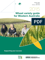 2015 Wheat Variety Guide for Western Australia PDF