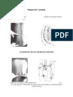 Palpación Lumbar