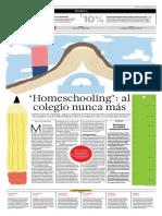Homeschooling, Al Colegio Nunca Más
