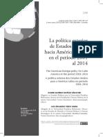 Dialnet - La Política Exterior de Estados Unidos hacia América Latina