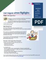 Harrington Grove Highlights Spring 2010 Newsletter