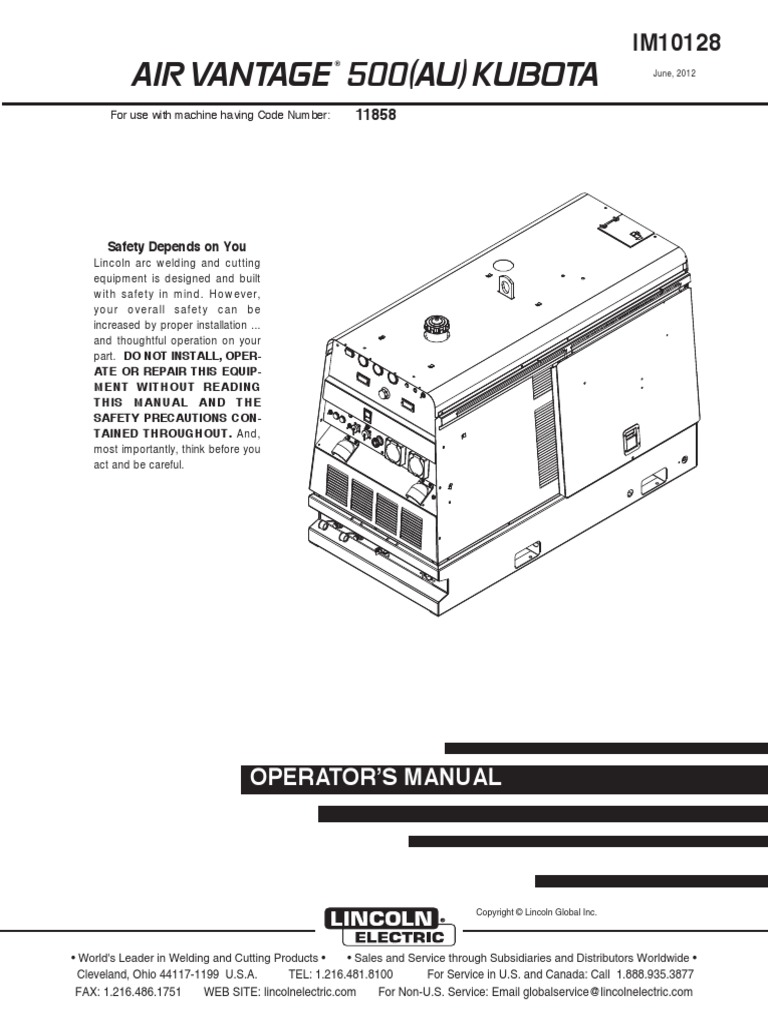Lincoln Kubota Weld | Welding | Cable