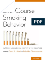 Dean R. Lillard, Rebekka Christopoulou-Life-Course Smoking Behavior_ Patterns and National Context in Ten Countries-Oxford University Press (2015)